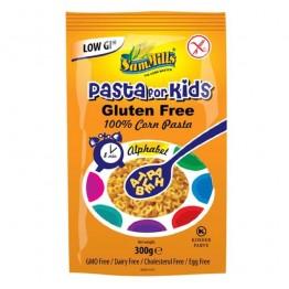 Безглутенова царевична паста за деца Азбука Sam Mills - 300 гр