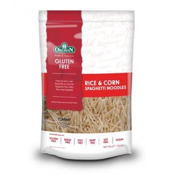 Паста спагетено фиде ориз и царевица Orgran - 375 гр