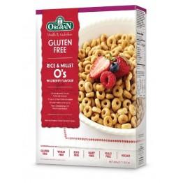 Безглутенова зърнена закуска с ориз и просо Orgran - 300 гр
