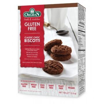 БЕЗГЛУТЕНОВИ класически шоколадови бисквитки - Orgran