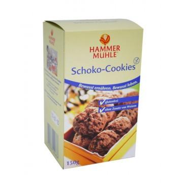 Безглутенови шоколадови бисквити 150 гр - HAMMER MÜHLE