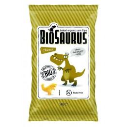 БИО царевичен снакс със сирене печен BioSaurus
