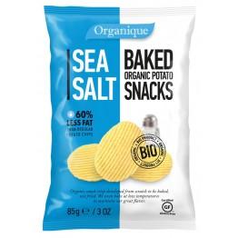 БИО картофен снакс Organique с морска сол
