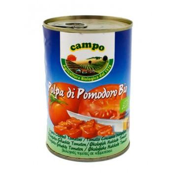 БИО нарязани домати - консерва 400 гр - Campo