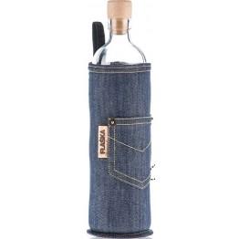 Бутилка за структуриране на вода Flaska Neo Design 750 мл. -  син - jeans