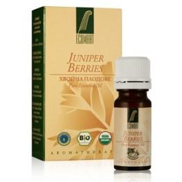 Етерично масло Хвойна - плодове 100% Био Ecomaat - 10мл
