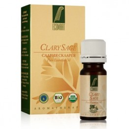 Етерично масло Салвия Скларея 100% Био Ecomaat - 10мл