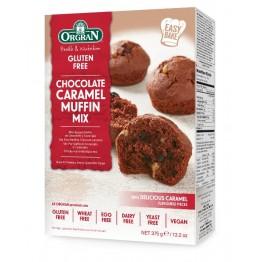 Готова смес за шоколадово-карамелени мъфини без глутен Orgran - 375 гр