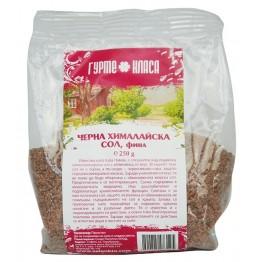 Хималайска сол черна фина Гурме Класа - 250 гр