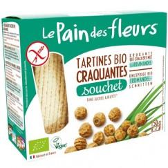 Хляб от цветя хрупкави хлебчета с Чуфа Le Pain des fleurs - 150 гр