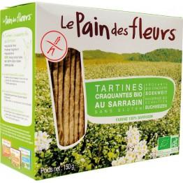 Хляб от цветя хрупкави хлебчета с елда без глутен Le pain des fleurs - 300 гр