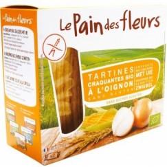 Хляб от цветя хрупкави хлебчета с лук Le pain des fleurs - 150 гр