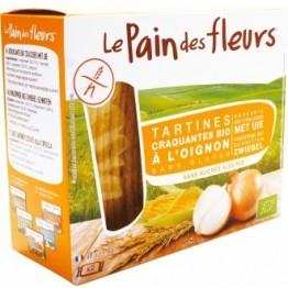 Хрупкави хлебчета от цветя с лук - без глутен, 150г. Le pain des fleurs