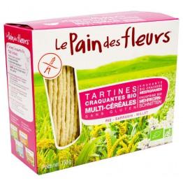 Хляб от цветя многозърнести хрупкави хлебчета без глутен Le Pain des fleurs - 150гр