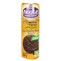Какаови бисквити Диджестив Noglut - 200 гр