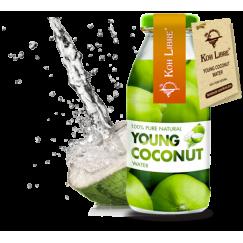 Кокосова Вода (сок от млад кокос) 100% Koh Libre -250мл