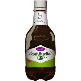 Комбуча Лайф Био Джинджифил / Kombucha Life Bio Ginger - 330 ml