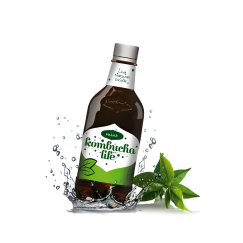 Комбуча Лайф Мента / Kombucha Life Mint - 330 ml / 500 ml.