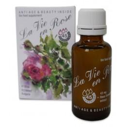 La Vie en Rose - капки 100% био (органик) сертифицирана хранителна добавка