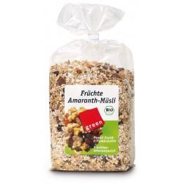Мюсли с амарант и плодове Greenorganics - 500 гр