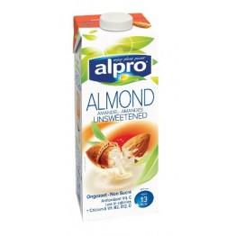 Бадемово мляко без захар и сол Alpro - 1 л