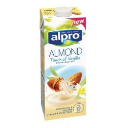 Бадемово мляко и ванилия Alpro - 1 л