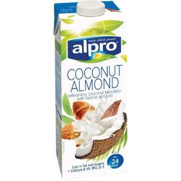 Напитка  кокос и бадем Alpro -1000мл