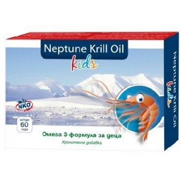 Нептун Крил Ойл Кидс / Neptune Krill Oil Kids