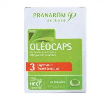 Oleocaps 3 (Храносмилане и чревна проходимост)