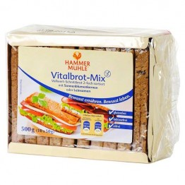 Пълнозърнест хляб без глутен MIX 500 гр - HAMMER MÜHLE
