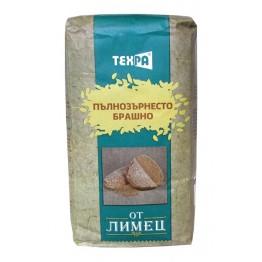 Пълнозърнесто брашно от лимец Техра -1000гр