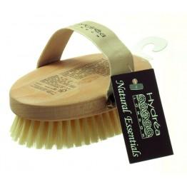 Професионална четка за тяло с естествен косъм - средна твърдост - Hydrea London