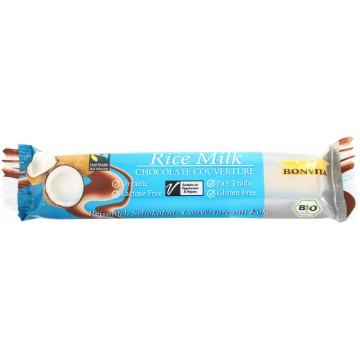 Шоколад с оризово мляко и кокос Bonvita - 35гр
