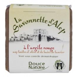 Сирийски сапун от Алепо с червена глина Douce Nature - 100 гр