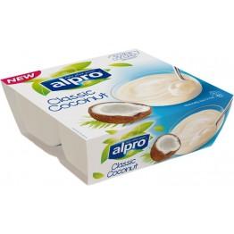 Соев десерт кокос Alpro - 4х125 гр
