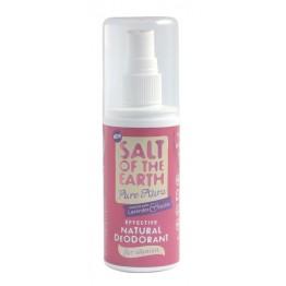 """Течен део кристал """"Pure Aura"""" – лавандула и ванилия  Salt of the Earth - 100мл"""
