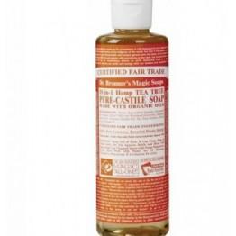 Течен сапун с Чаено дърво - Антибактериален Dr. Bronner's  -  475 мл