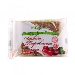 Натурален десерт Червена боровинка Сарина - 40 г