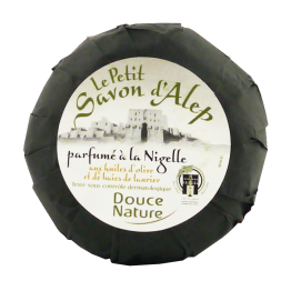 Сирийски сапун от Алепо с нигела Douce Nature - 100гр